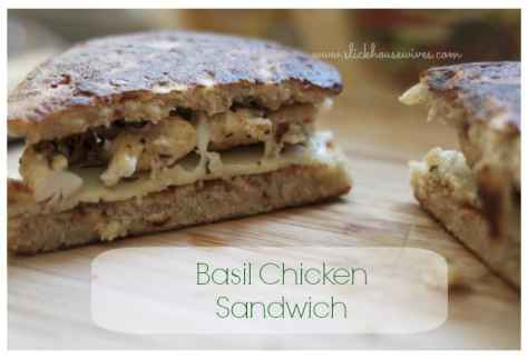 Basil Chicken Sandwich Recipe