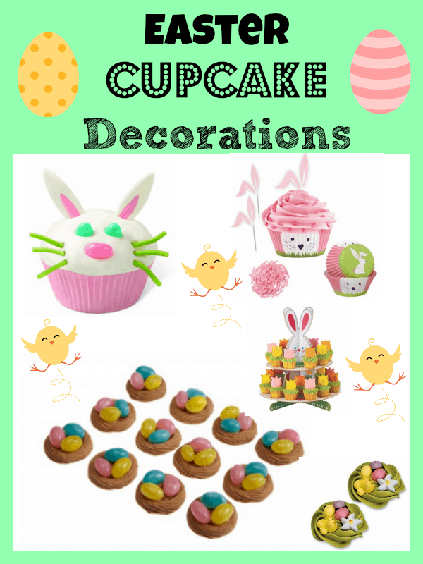 Easter Cupcake Decorations Roundup