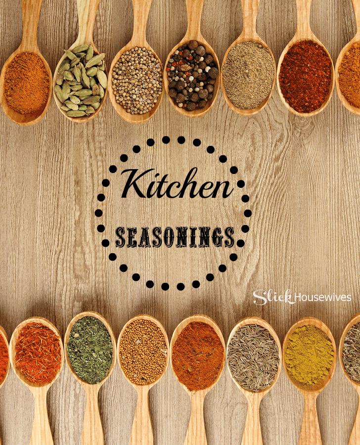 kitchen seasonings