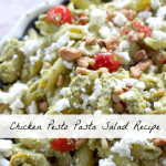 Chicken Pesto Pasta Salad Recipe #goodcookcom