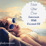 How to Make your Own Sunscreen: Homemade Sunscreen Recipe