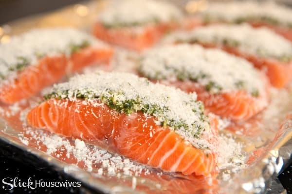 salmon cooked in foil