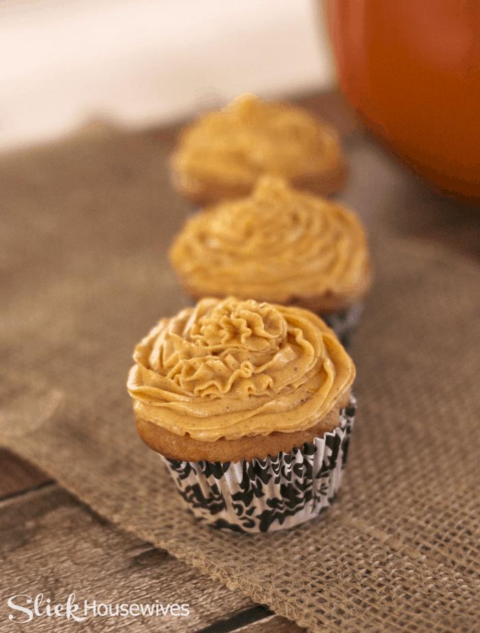 pumpkin pie buttercream frosting