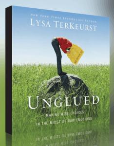 FREE Audiobook: Unglued by Lysa TerKeurst
