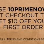 Amazon Prime Now: $10 Off Your First Purchase {HURRY!}