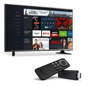 Hisense 32-Inch 720p LED TV with Fire TV Stick