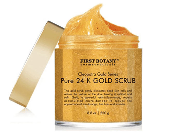 24K Gold Facial Scrub