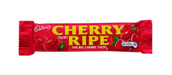 Australian Chocolate Bars (Cherry Ripe!)