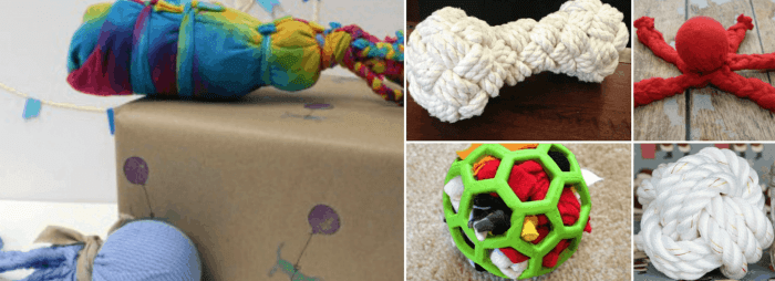Homemade Dog Toys