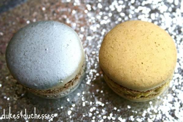 Metallic Macarons