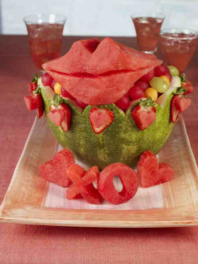 Valentines Watermelon Carving