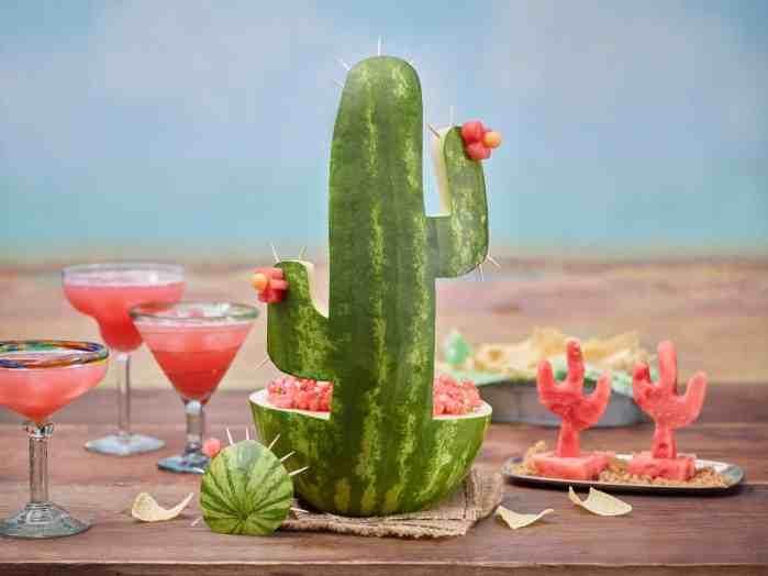 Watermelon Cactus Idea
