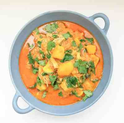 Mango Chicken Curry - Instant Pot + Slow Cooker Recipe