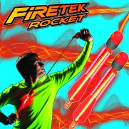 Air Storm Firetek Rocket poster