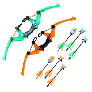 orange green Air Storm z-tek bow