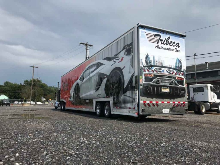 Vehicle Wraps Tractor Trailers