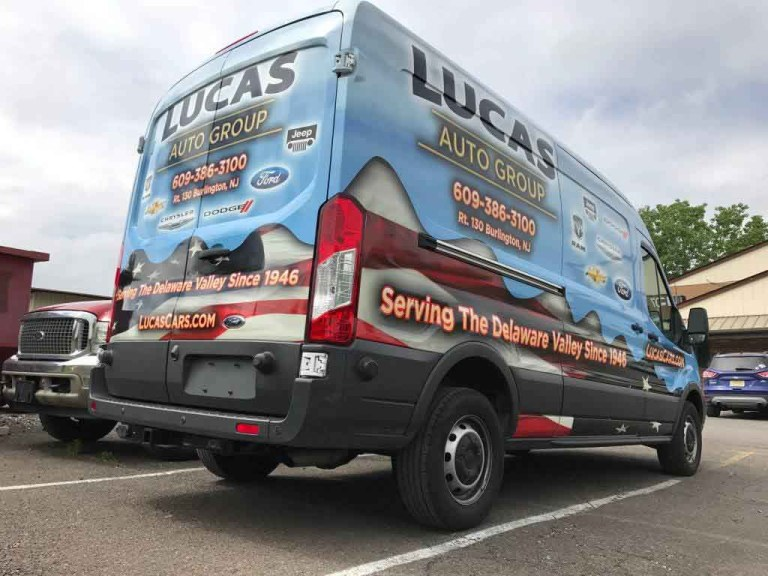 Commercial Van Wraps NJ