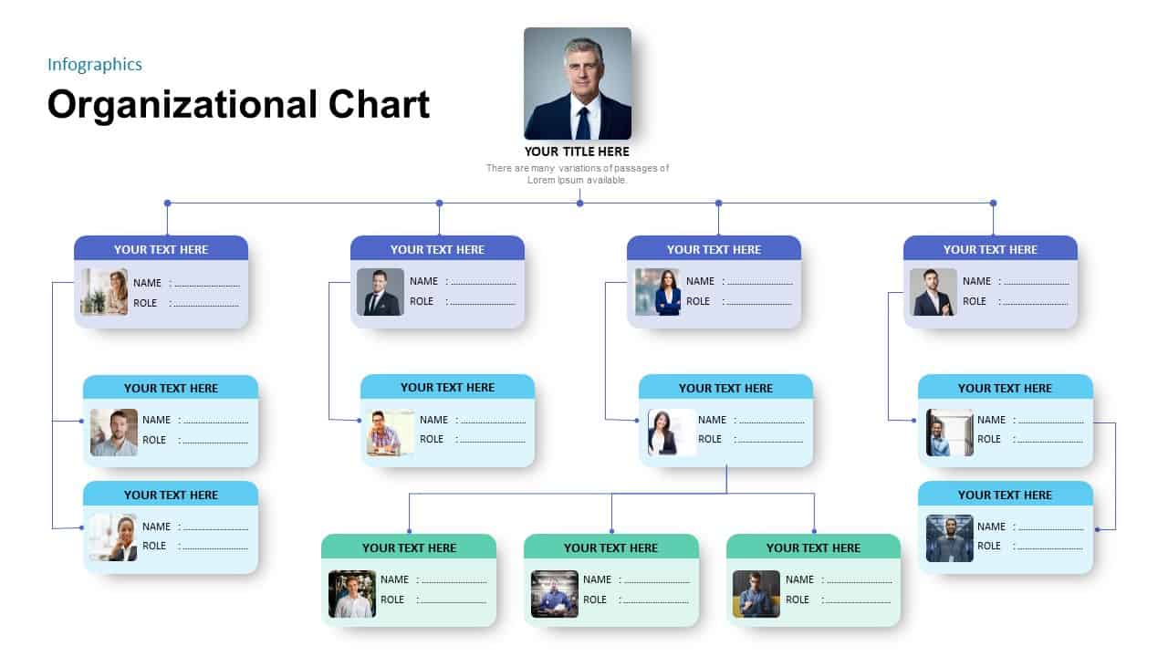 Then go to the menu insert and. Simple Organizational Chart Template For Powerpoint Presentation