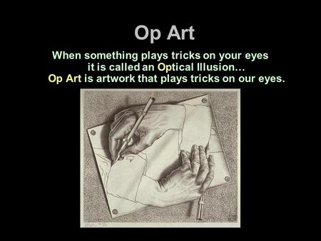 optical illusions school presentation # 37