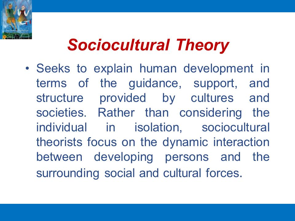 sociocultural theory definition