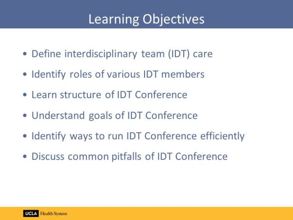 Introduction to Interdisciplinary Team Care - ppt video ...