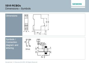 5SV9 Residual Current Circuit Breakers with Overcurrent Protection  ppt video online download