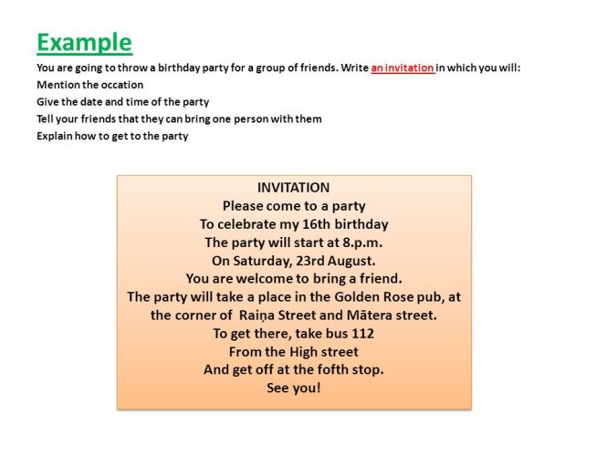Example dialogue invitation birthday party cogimbo invitation funny conversation between two friends french lesson stopboris Gallery