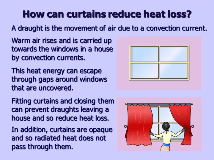 How Do Carpets And Curtains Prevent Heat Loss