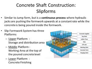 SELECTION CRITERIA FOR ELEVATED RC TANKS CONSTRUCTION