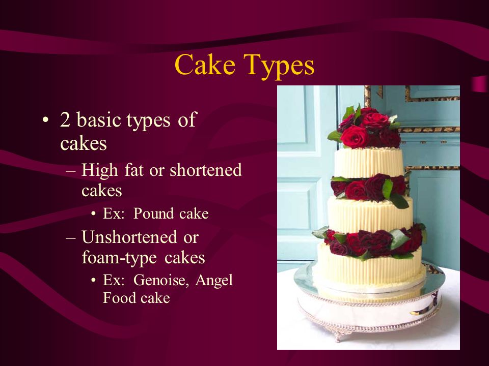 Types Cakes Whole Foods