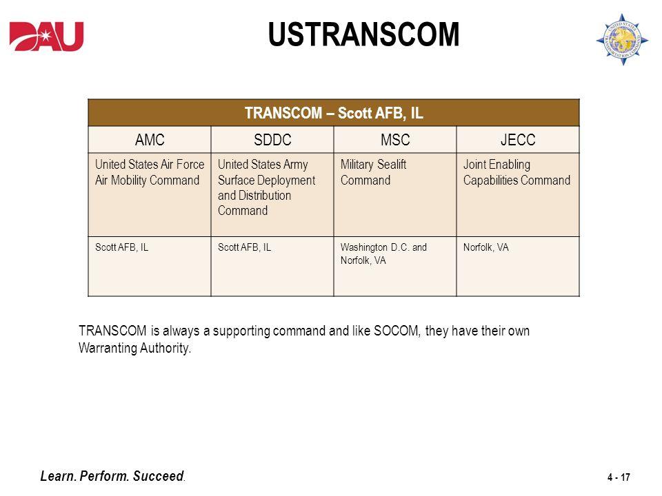 Socom Organization Chart