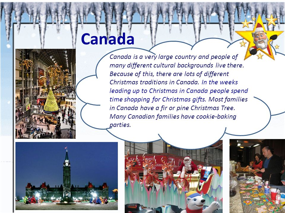 Christmas In The English Speaking Countries Ppt Video
