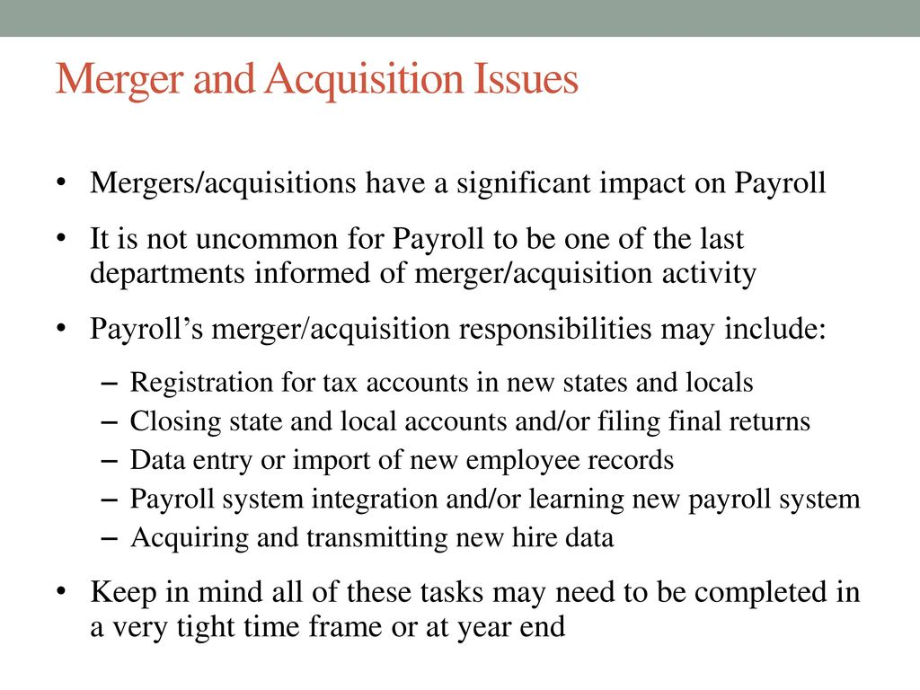 Payroll Department Year End Complexities November 5 Ppt Download