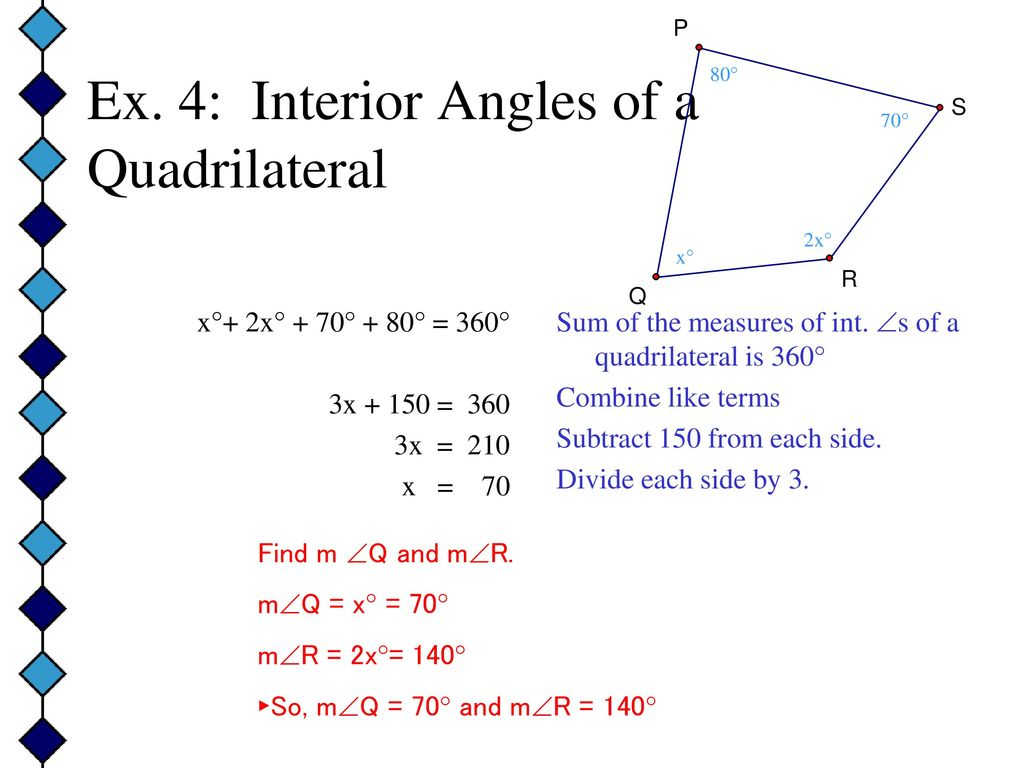 Equation For Interior Angles Formula 1 Find Share On