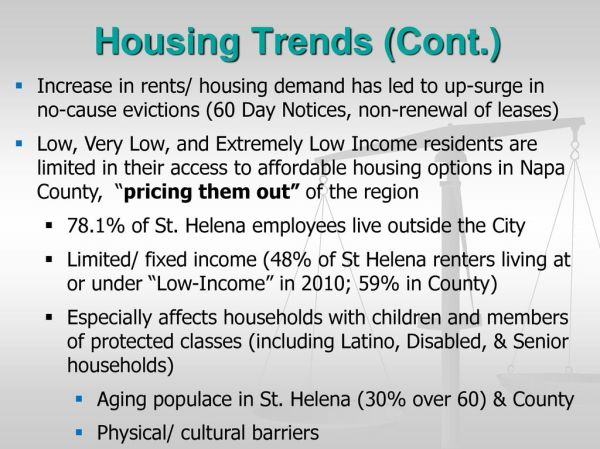 St. Helena & Napa County Housing Trends: Opportunities ...