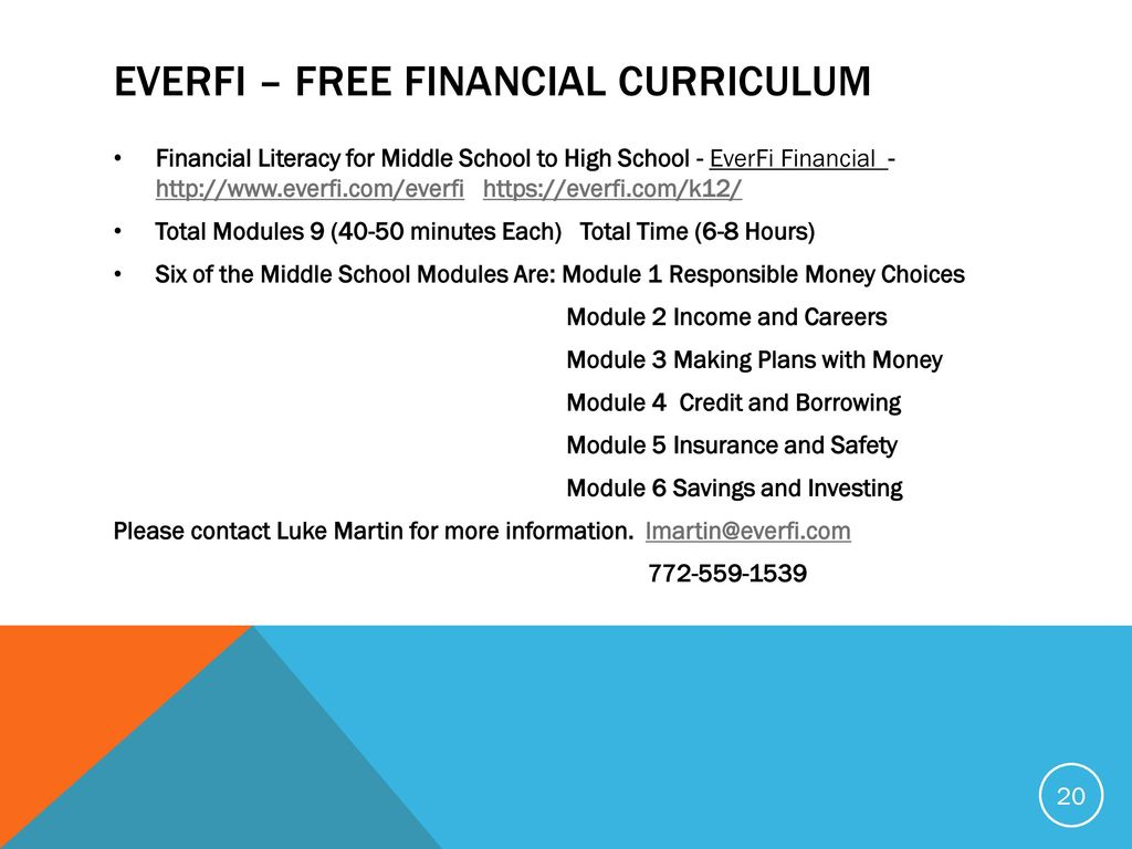 Educational Resources And Financial Literacy For Life