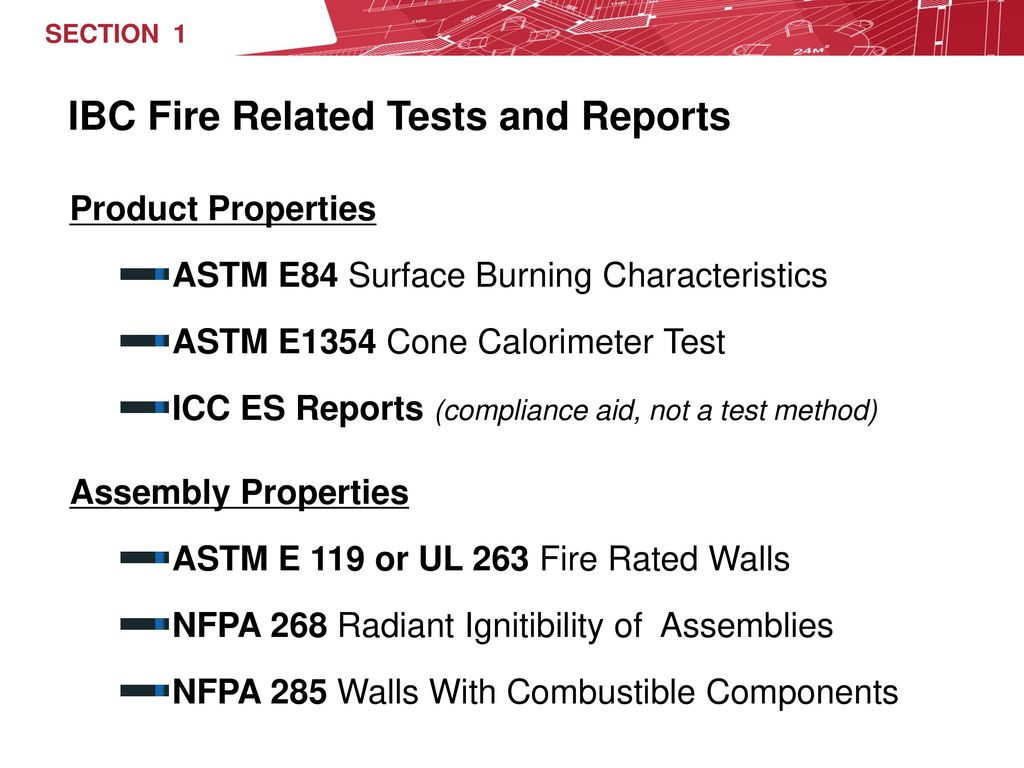 Nfpa 285 Assembly Test Of Exterior Walls With Combustible Components