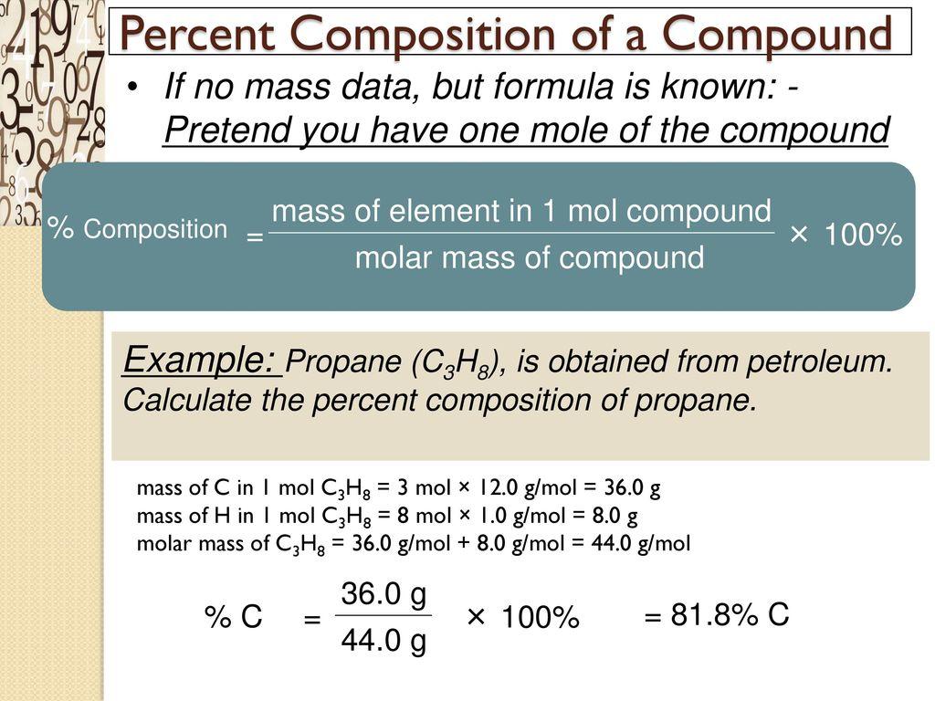 Chemical Quantities Amp Stoichiometry