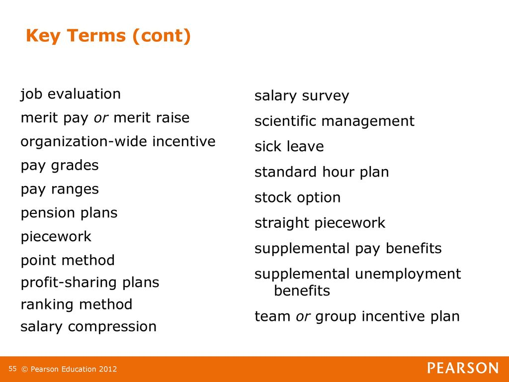 Chapter 11 Compensation Incentives And Benefits Lecturer