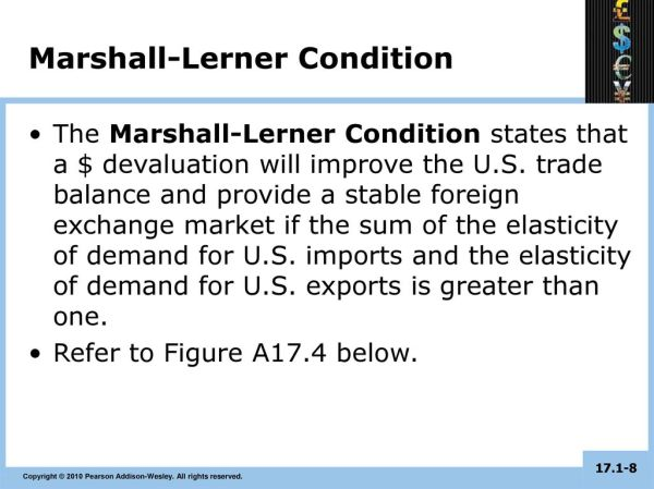 Stable Foreign-Exchange Markets and the Marshall–Lerner ...
