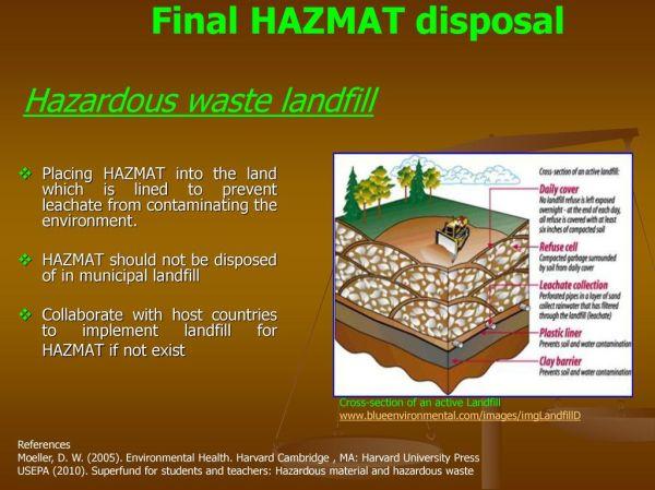 Management of Hazardous Material (HAZMAT) in DPKO Missions ...