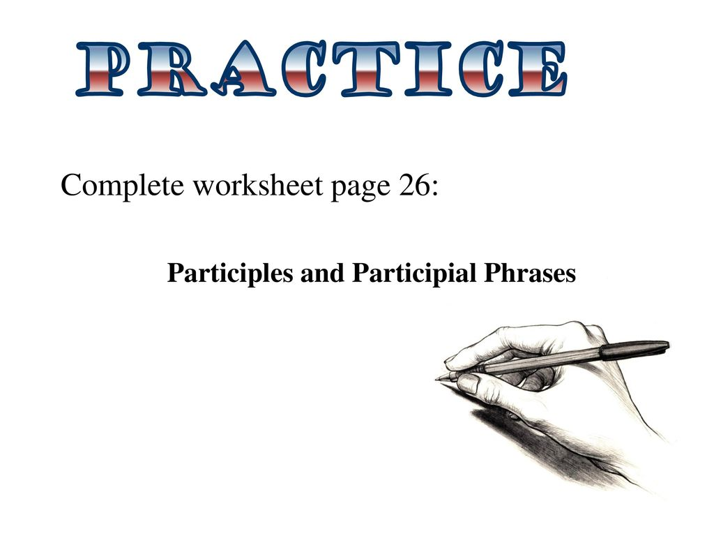 Uncategorized Participial Phrase Worksheet Waytoohuman Free Worksheets For Kids Amp Printables