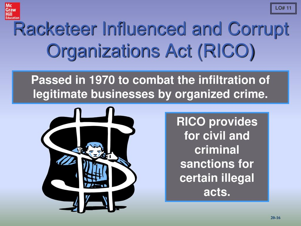 Image result for rico act