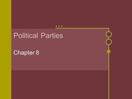 Political Parties Party competition: battle of the parties ...