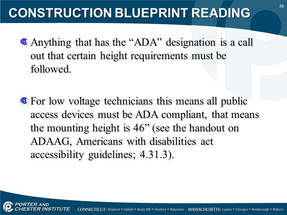 Low Voltage Symbols For Blueprints