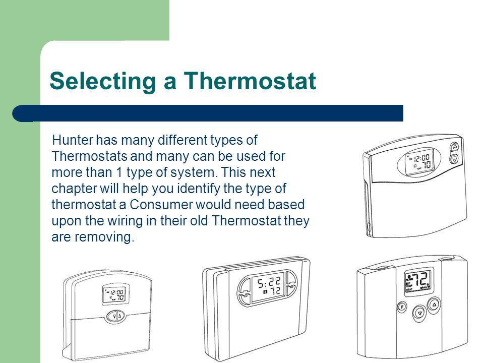 Hunter 44905 Thermostat Wiring Diagram