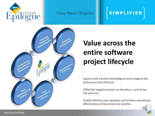 Value across the entire software project lifecycle - ppt ...