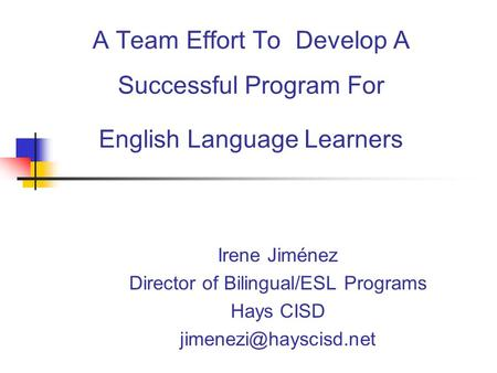 English Language Learners in Schools - ppt video online ...