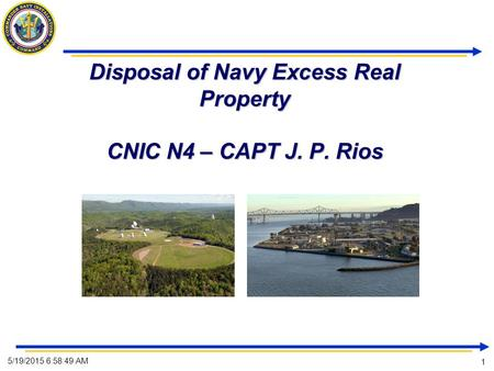 Disposition of Excess BRAC Real Property at NAVSTA Newport ...