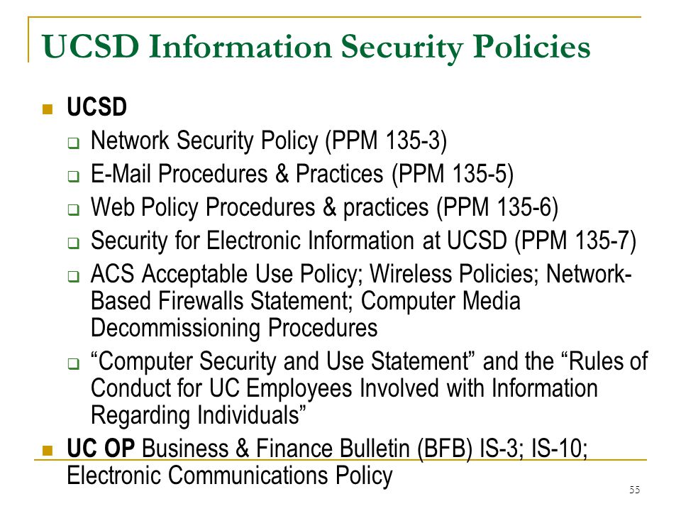 Digital Information Security Policy